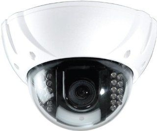 Speco VL650IRVFW Outdoor Day/Night Vandal Resistant Dome Camera, 2.8 12mm Lens, White  Camera & Photo