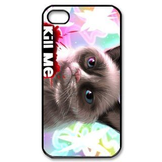Custom Tard the Grumpy Cat Cover Case for iPhone 4 4s LS4 2023 Cell Phones & Accessories