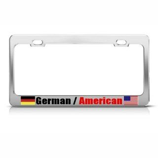 Germany German American Country Metal License Plate Frame Tag Holder Automotive