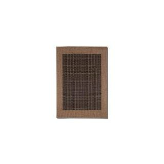 Couristan Checkered Field Indoor/Outdoor Runner Rugs   Area Rugs