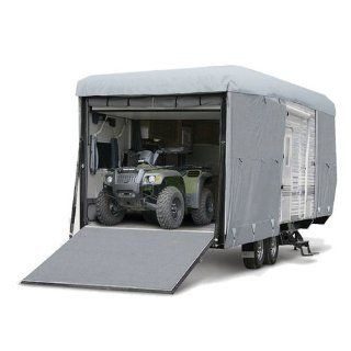 Budge RVRP 50 Grey Polyester Toy Hauler/Trailer Cover Automotive