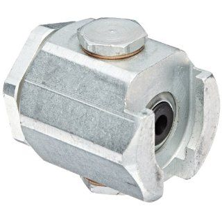 "Alemite 304301 Button Head Coupler, For Use with Standard or Giant Button Head Fittings, 7/16"" Female NS 2 Hydraulic Hose Fittings"
