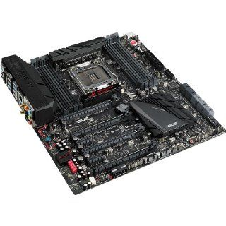 Asus Rampage IV Black Edition EATX DDR3 2133 Intel LGA 2011 Motherboard Computers & Accessories