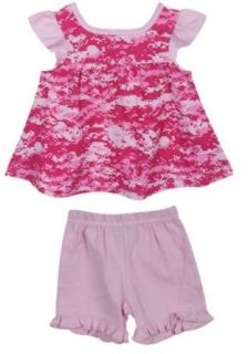 Baby's Digital Pink Camo Princess Dress Outfit Clothing