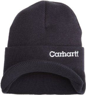 Carhartt Men's Knit Hat With Visor, Navy, One Size Sport, Fitness, Training, Health, Exercise Gear, Shape UP  General Sporting Equipment  Sports & Outdoors