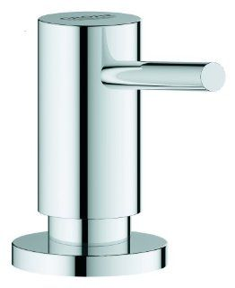 Grohe 40535000 Cosmopolitan Soap Dispenser Top Fill with 15 Ounce Capacity, Starlight Chrome