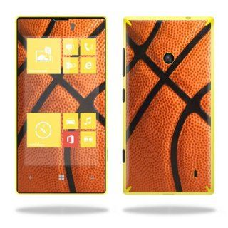 Protective Vinyl Skin Decal Cover for Nokia Lumia 520 Cell Phone T Mobile Sticker Skins Basketball Cell Phones & Accessories