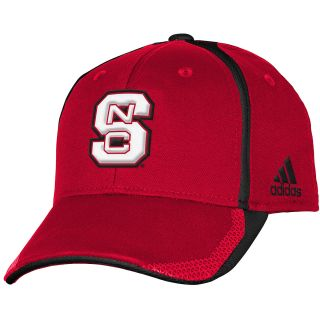 adidas Youth North Carolina State Wolfpack Player Structured Fit Flex Cap