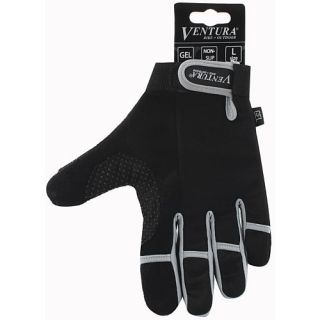 Ventura Full Finger Gloves   Size Medium, Grey (719950 G)