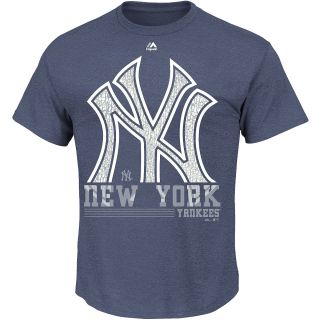 MAJESTIC ATHLETIC Mens New York Yankees 6th Inning Short Sleeve T Shirt   Size
