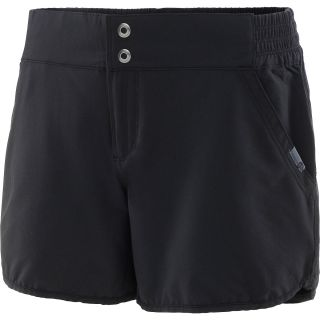 MOUNTAIN HARDWEAR Womens Petrina Shorts   Size Large, Black