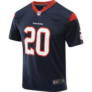 NIKE Youth Houston Texans Ed Reed Game Team Color Jersey   Size Large