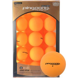 Ping Pong 39 Pack 1* Orange Table Tennis Balls (T1446)