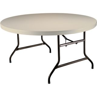 Lifetime 5 Round Utility Table (Case Pack of 4 Tables)   Size 60 Round,