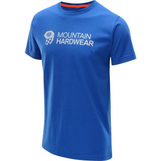 MOUNTAIN HARDWEAR Mens MHW Graphic Short Sleeve T Shirt   Size Small, Azul