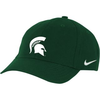 NIKE Youth Michigan State Spartans Classic Adjustable Cap, Green