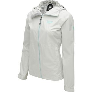 MOUNTAIN HARDWEAR Womens Plasmic Full Zip Jacket   Size Xl, Sea Salt