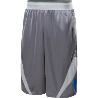 UNDER ARMOUR Mens EZ Mon Knee Basketball Shorts   Size 2xl, Graphite/aluminum