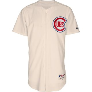 MAJESTIC ATHLETIC Mens Chicago Cubs 1953 Sunday Authentic Replica Home Jersey