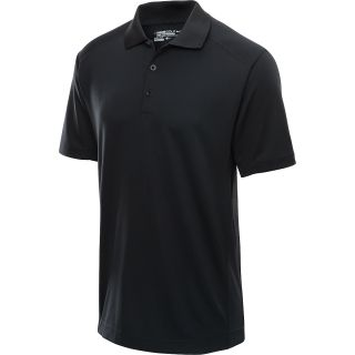 NIKE Mens Tech Jersey Golf Polo   Size Large, Black/white