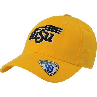 TOP OF THE WORLD Mens Wichita State Shockers Premium Collection Gold Stretch