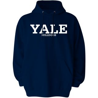 T SHIRT INTERNATIONAL Mens Yale Bulldogs Reload Pullover Hoody   Size Large,