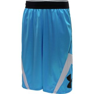 UNDER ARMOUR Mens EZ Mon Knee Basketball Shorts   Size Small, Blue/white
