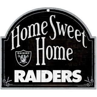 Wincraft Oakland Raiders 10X11 Arch Wood Sign (91887010)