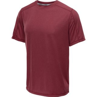 CHAMPION Mens PowerTrain Heather Short Sleeve T Shirt   Size 2xl, Maroon