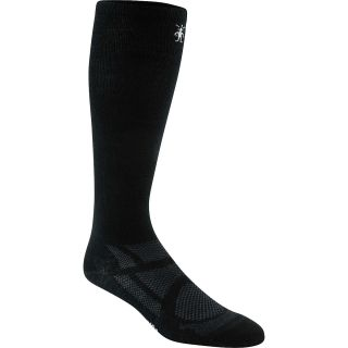SMART WOOL Ultralight Cushion Ski Socks   Size Medium, Black