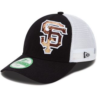 NEW ERA Youth San Francisco Giants Sequin Shimmer 9FORTY Adjustable Cap   Size