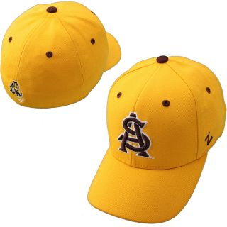 Zephyr Arizona State Sun Devils DH Fitted Hat   Gold   Size 7 1/4, Arizona St.