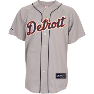 Majestic Athletic Detroit Tigers Blank Replica Road Jersey   Size XXL/2XL,