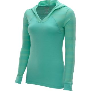 MOUNTAIN HARDWEAR Womens DrySpun Burnout Long Sleeve Hoodie   Size Xl,