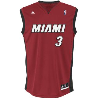adidas Mens Miami Heat Dwayne Wade Replica Alternate Color Jersey   Size Xl,