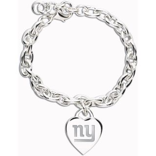 Wincraft New York Giants Heart Charm Bracelet (62372091)