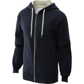 CHAMPION Mens Eco Fleece Full Zip Hoodie   Size Small, Graphite