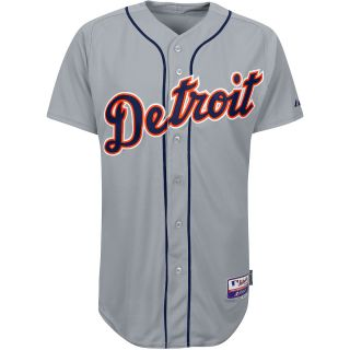 Majestic Athletic Detroit Tigers Black Authentic Road Cool Base Jersey   Size