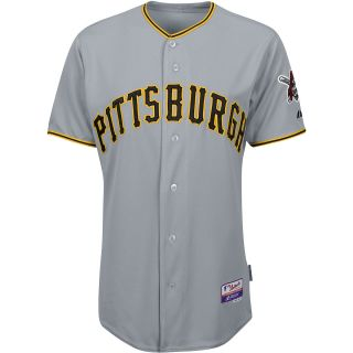 Majestic Athletic Pittsburgh Pirates Blank Authentic Road Cool Base Jersey
