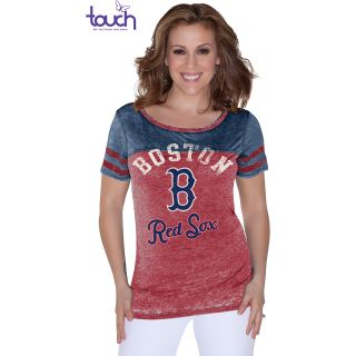 Touch By Alyssa Milano Womens Boston Red Sox Morgan Short Sleeve T Shirt