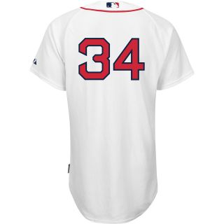 Majestic Athletic Boston Red Sox David Ortiz Authentic Cool Base Home Jersey