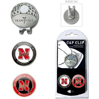 Team Golf University of Nebraska Cornhuskers 2 Marker Cap Clip (637556224477)