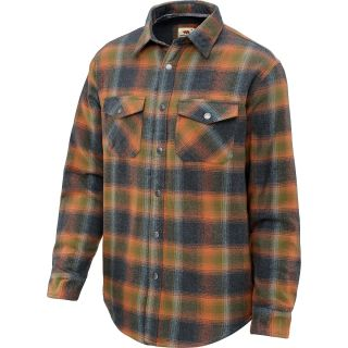 DAKOTA GRIZZLY Mens Archer Long Sleeve Shirt Jacket   Size Xl, Tabasco