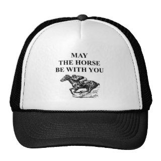 thoroughbred horse racing hat