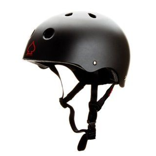 Protec Spitfire Helmet (X Large, Matte Black/Red)  Skate And Skateboarding Helmets  Sports & Outdoors