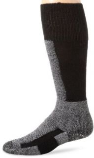 Thorlo Men's Comfort Fit Ski Sock, Black, X Large Clothing