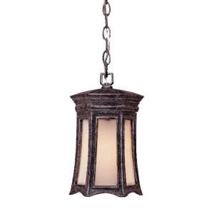 Acclaim Lighting Milano Collection Hanging Lantern 1 Light Outdoor Stone Light Fixture 1256ST