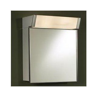 "NuTone 555IL Specialty Surface Mount 16""W x 24""H Built in Light Premium Float Glass Mirror Medicine   Medicine Cabinets"