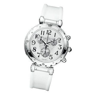 Balmain B 539 5631 22 14 39mm Stainless Steel Case White Rubber Anti Reflective Sapphire Women's Watch Watches