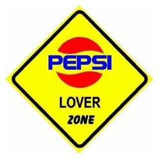PEPSI LOVER ZONE sign * street colorful cola   Yard Signs